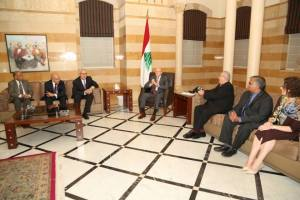 Meeting Prime Minister of Lebanon.